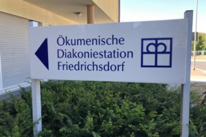 Schild Diakoniestation