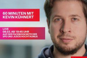 60 Minuten mit Kevin Kühnert